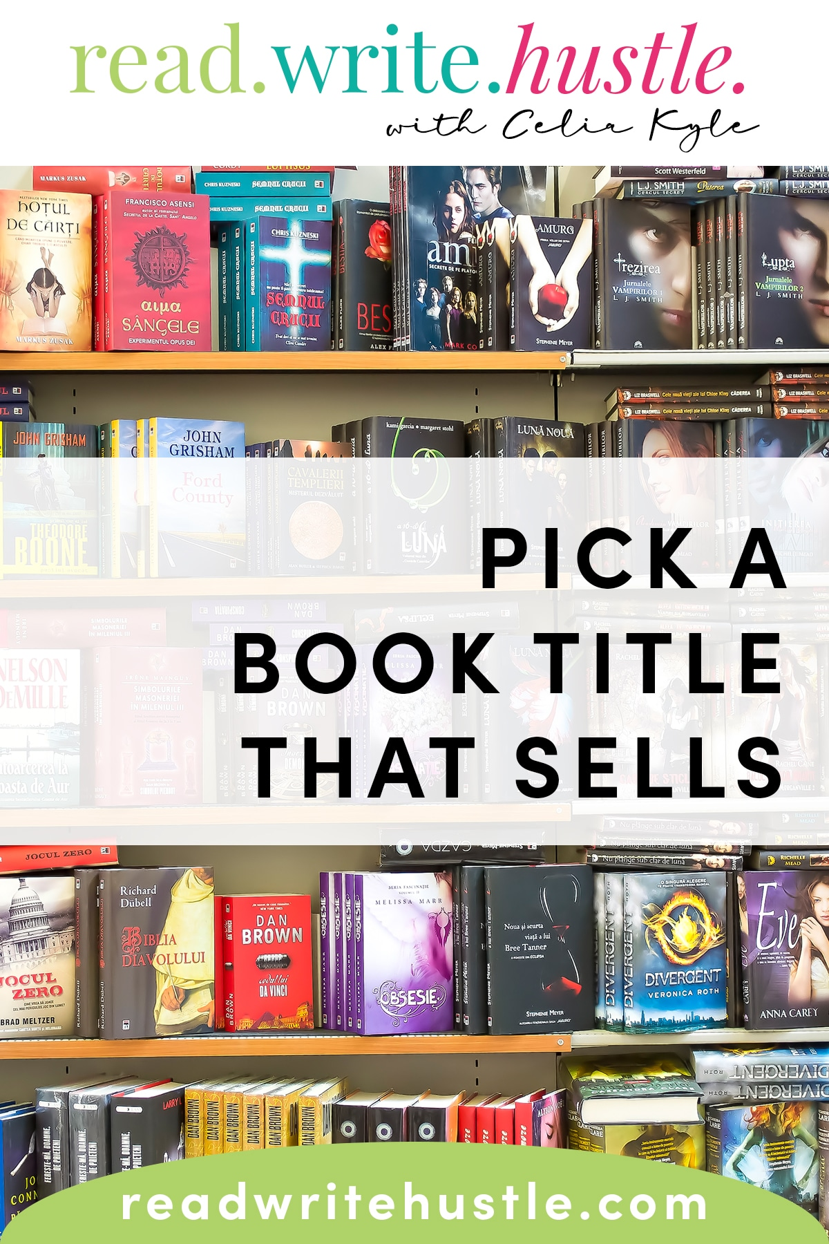 pick a book title that sells