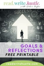 reflections goals worksheets