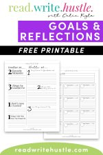 goals reflections sample pages